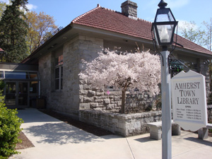 photo of Amherst Town Library