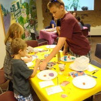 "Owen and Genevieve are busy making ""monsters"" with Casey..."